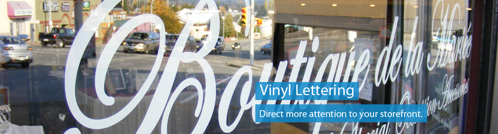 Order vinyl lettering lettering