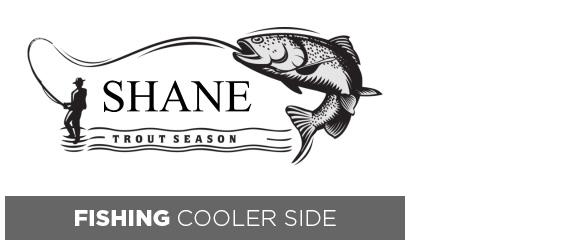 Fishing Cooler Side