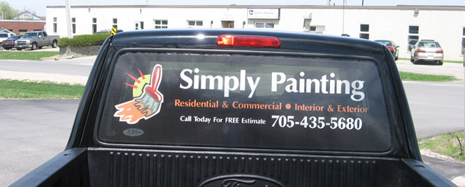 Vehicle Lettering Example4