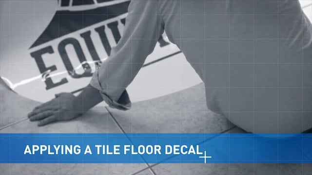 Applying Tile Floor Vinyl