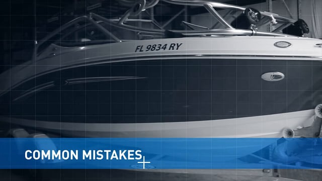 Common Boat Vinyl Mistakes