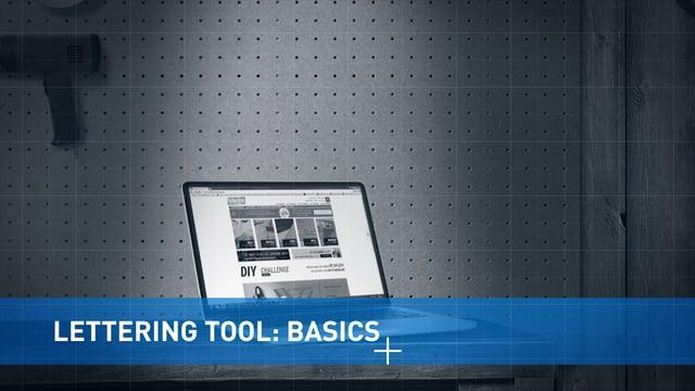 Lettering Tool: Basics