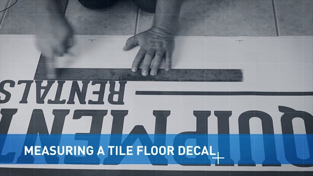 Measuring Tile Floor Graphics