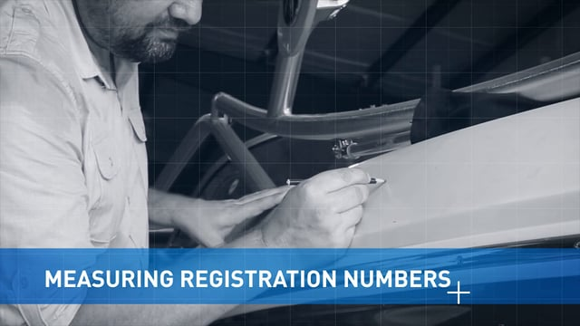 Measuring Boat Registrating Numbers