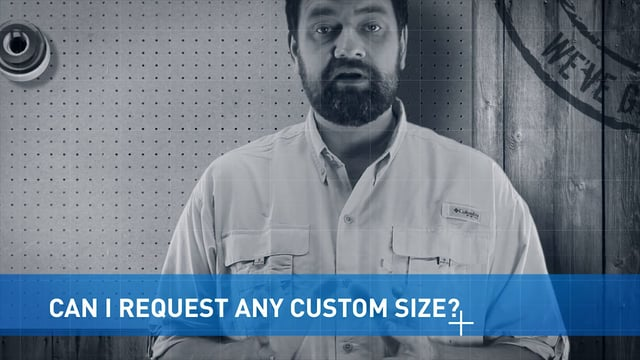 Requesting A Custom Size