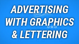 Business Advertisng with Lettering & Graphics