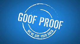 Goof Proof Warranty