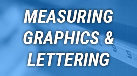 Measuring Boat Graphics & Lettering