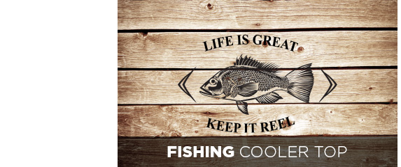 Fishing Cooler Top