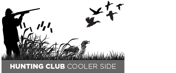 Hunting Club Cooler Front