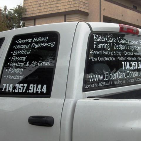 Vehicle Lettering & Car Graphics | LetteringOnTheCheap