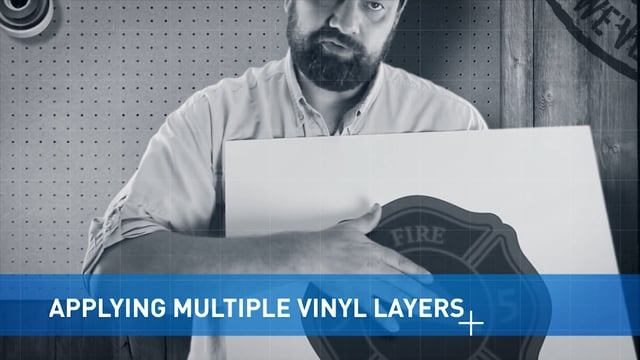Applying Multiple Layers of Vinyl