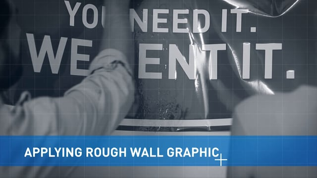 Applying Rough Wall Graphics