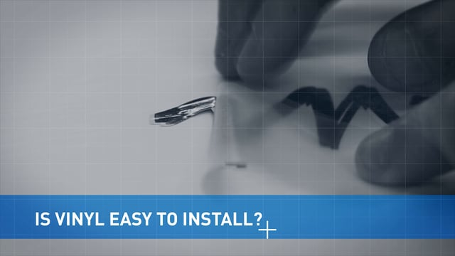 How Easy Is Vinyl To Install?