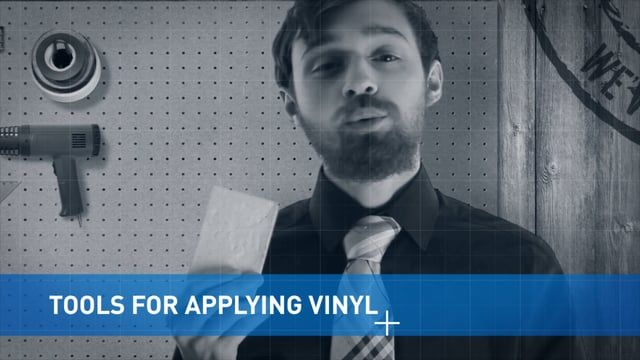 Tools for Applying Vinyl