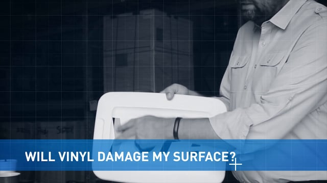 Will Vinyl Damage My Surface?